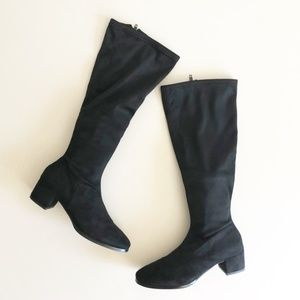 Chinese Laundry Fixer Faux Suede Boots Sz 7.5 NWOB